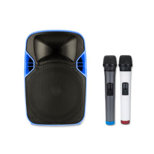 12 Inches Portable Consumer DJ Projection Speaker with Battery pictures & photos
