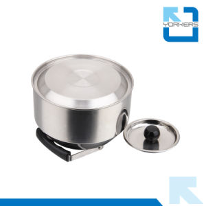 1.0L Stainless Steel Water Kettle and Outdoor Water Kettle with Portable Handle pictures & photos