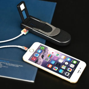 LED Light, LED Power Display Polymer Slim 3000mAh Portable Power Bank for iPhone pictures & photos
