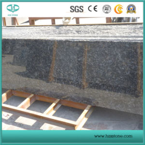 Blue Pearl Polished Granite Slabs for Kitchen Countertops pictures & photos