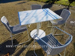 Modern Design Outdoor Corian Coffee Table pictures & photos