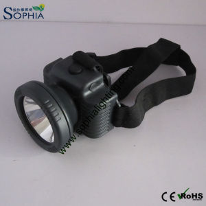 3W Rechargeable Farmers Head Lamp with CREE LED Waterproof