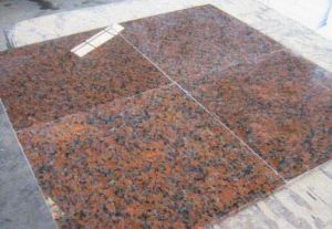 Import and Export Supplier G562 Maple Red Granite Tiles pictures & photos