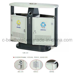 fashion Hotel Lobby Trash Can Outdoor Trash Can Holder pictures & photos