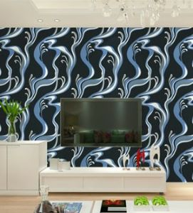 China Living Room Interior Wall Decorative Modern Wallpaper Wholesales for Hotels pictures & photos
