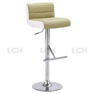 Wholesale Bar Stool with Chromed Base pictures & photos
