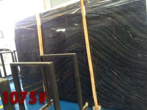 Competitive Price Building Material Wooden Crate Package Timber Black Marble Slab for Tile pictures & photos