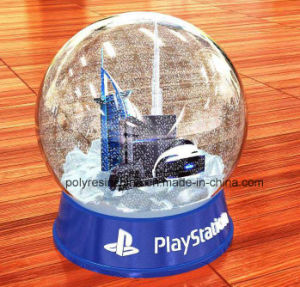High Quality Souvenir Snow Globe with Sky Building pictures & photos