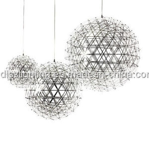 China Suspension Stainless Steel Pendant Lamp LED Hanging Light for Hotel pictures & photos