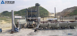 Lb1500 Fixed Asphalt Batching Plant in India