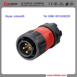 Waterproof Circular Connector IP67 High Voltage Electrical Connector pictures & photos