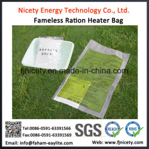 Water Reactive Military Mre Flameless Ration Heater Bag Use pictures & photos