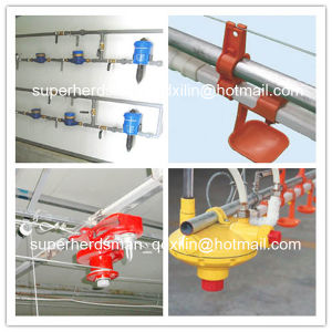 High Quality Automatic Poultry Feeding and Nipple Drinking System for Chicken pictures & photos