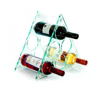 Clear Plexiglass Display Holder for Wines pictures & photos