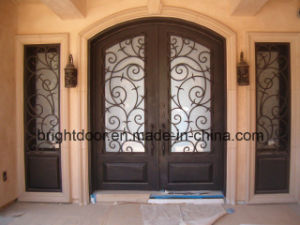 Outdoor Wrought Iron Door Steel Grill Door Design pictures & photos