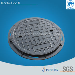 En124 A15 FRP Manhole Cover with Frame, Utilities Manhole Cover Frame pictures & photos