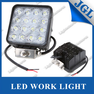 48W Waterproof CE, RoHS, E-MARK LED Work Light