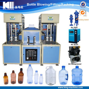 Semi-Automatic Pet Bottle Blowing Molding Machine / Making Machine pictures & photos