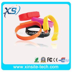 Wrist Bands Bracelet USB Flash Drives USB Memory U Disk Stick Pen Drive (XST-U067)