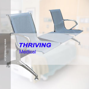 Low-Price Stainless Steel Hospital Accompanying Waiting Chair (THR-YD1026-T) pictures & photos