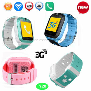 Hot 3G Network Smart Kids GPS Tracker Watch with Camera Y20 pictures & photos