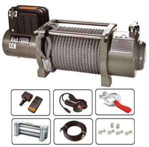 12V /24V New Solenoid Control Box 15000lbs Electric Winch