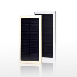 8000mAh Slim Portable Mobile Phone Battery Solar Charger Power Bank pictures & photos