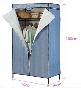 Adjustable DIY Steel Wardrobe for Wire Closet Shelving Factory pictures & photos