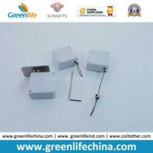 Hot Sale in Europe Mini Square White Retractable Anti-Theft Display