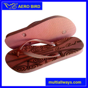 Popoular Simple Style PE Sole Footwear for Women (14C032) pictures & photos