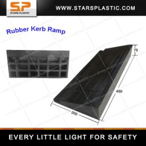 Kr-A75-02 Rubber Kerb Ramp Kerb Ramp pictures & photos