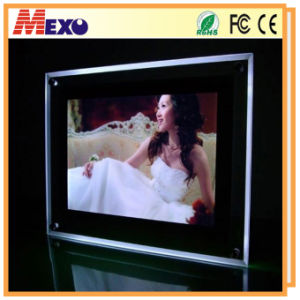 LED Light Acrylic Women Sex Picture Photo Frame with Light pictures & photos