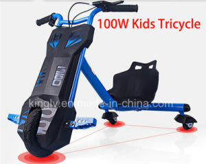 Kids Drift Trike 100W Electric Tricycle Mini Buggy (CK-03) pictures & photos