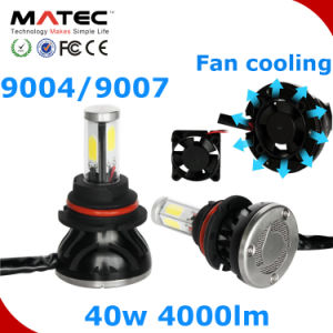 COB 80W 8000lm 9004 9007 10000 Lumen LED Headlight pictures & photos
