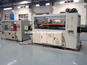 PVC PP PE PPR Pert Pipe Extruder Machine Extrusion Line pictures & photos