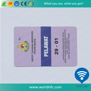 Low Frequency PVC Printing Em4200 Smart Card with Magnetic Stripe pictures & photos
