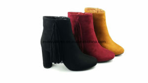 Tassels Design High Heels Lady Winter Boots pictures & photos