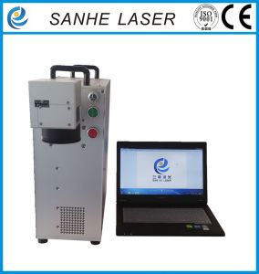 Portable Laser Marking Machine for Metal and Plastic pictures & photos