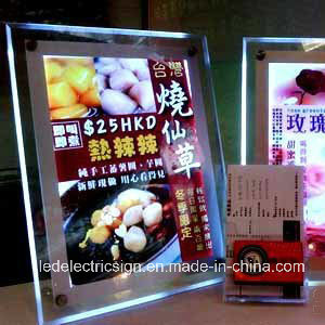 Meal Card Advertising Light Boxes pictures & photos