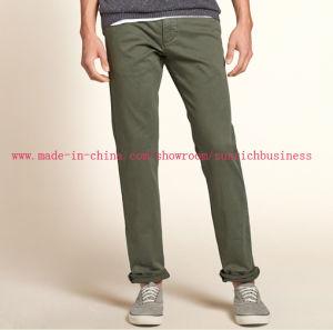 Men′s Casual Cotton Long Pants (P15002) pictures & photos