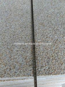 Bushhammer G682 Sunset Gold Granite Border Tiles for Swimming Pool Paver pictures & photos