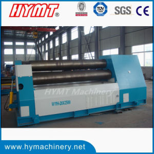 W11H-20X2500 hydraulic 3 roller rolling machine pictures & photos