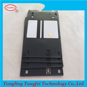 Magnetic Stripe 2track Chipblank White Chip Card pictures & photos