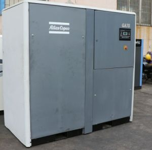 Ga75 Second Hand 7.5kw Lubrication Single Screw Air Compressor pictures & photos