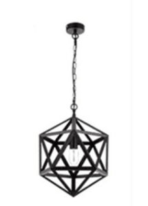 2016 New Middle Metal Hanging Pendant Light pictures & photos