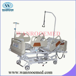 ICU Patient Bed with Manual CPR Handle pictures & photos
