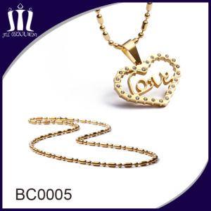 High Quality Stainless Steel 2.4mm Ball Chain for Pendant pictures & photos