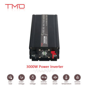 Single Phase off Grid Solar High Efficiency 92% DC 12V 24V to AC 220V 1000W 2000W 3000W Solar Power Inverter with Charger pictures & photos