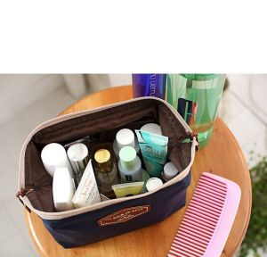 Multifunctional Fashion Cotton Cloth Korea Lovely Portable Cosmetic Bag pictures & photos