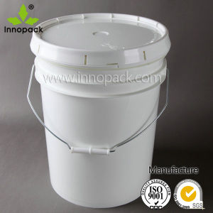America Style 20L Round Plastic Bucket pictures & photos